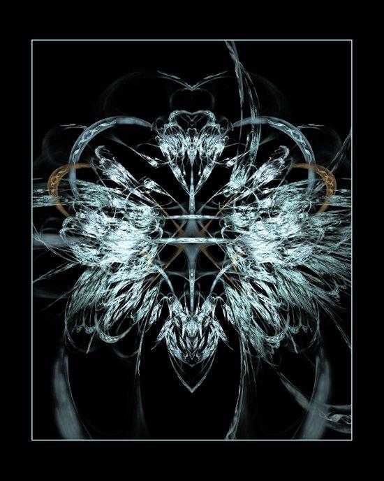 Angel Wings Fractal Art Print