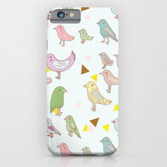 Bird Pattern iPhone & iPod Case