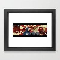 The Avengers Forgot Spid… Framed Art Print