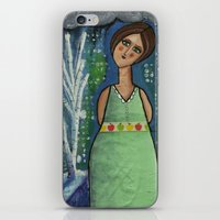 Aurora Leaves the City Behind iPhone & iPod Skin