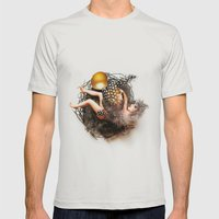 Empty Nest Mens Fitted Tee Silver SMALL