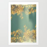 Reality leaves a lot to the imagination.   Art Print