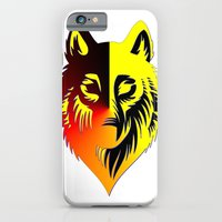 iPhone & iPod Case featuring The Solar Wolf by Silentwolf