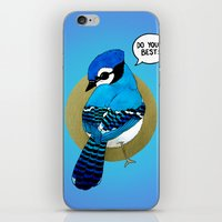 Do Your Best! iPhone & iPod Skin