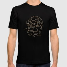 One Line The Thing Mens Fitted Tee Black SMALL