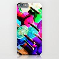 iPhone & iPod Case featuring Randomize by -en-light-art-