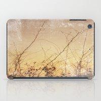 sea plants (gold) iPad Case