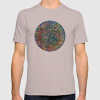 Planet Phoenix - Gouache on paper Mens Fitted Tee Cinder SMALL