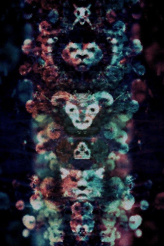 My personal daemons Art Print