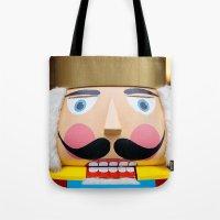 Nutcracker King Tote Bag
