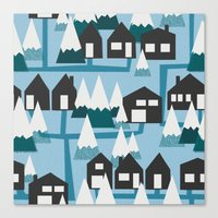 winter time Canvas Print