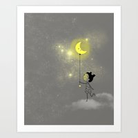 Lights Out Art Print