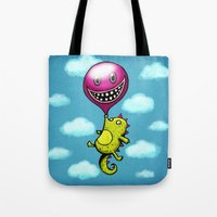BubbleCroco Tote Bag