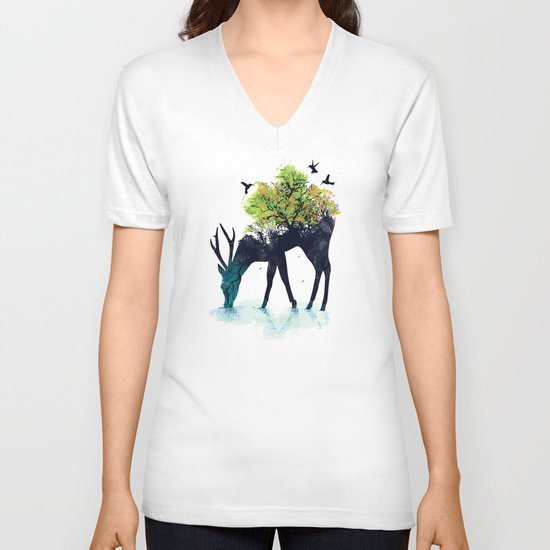 Watering (A Life Into Itself) V-neck T-shirt