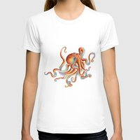 octopus T-shirts featuring Octopus by Patrizia Ambrosini