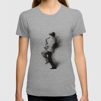 Refreska Womens Fitted Tee Athletic Grey SMALL