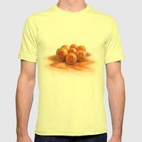 Happy 7 Mens Fitted Tee Lemon SMALL