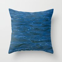 watermarks Throw Pillow