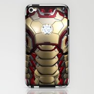 iPhone & iPod Skin featuring Iron/man Mark XLII Resty… by Emiliano Morciano (A…