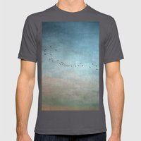 Toward The Sunset Mens Fitted Tee Asphalt SMALL