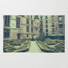 French Garden Maze IV Rug