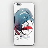 Astro Dame iPhone & iPod Skin