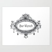 Bar Wench Art Print