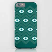 iPhone & iPod Case featuring diamond eye by Caitlin Burns