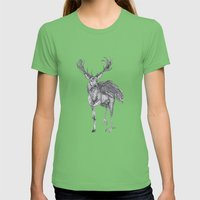 The Peryton Womens Fitted Tee Grass SMALL