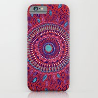 Red And Blue Mandala  iPhone 6 Slim Case