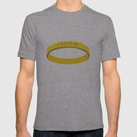 Cheater Mens Fitted Tee Athletic Grey SMALL