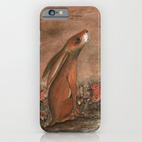 iPhone & iPod Case featuring Hare and Moon by Maria Forrester