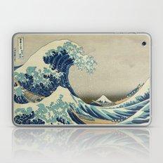 The Great Wave Off Kanag… Laptop & iPad Skin