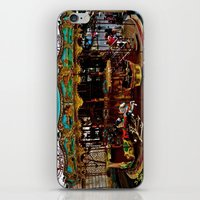 Merry Go Round Paree iPhone & iPod Skin
