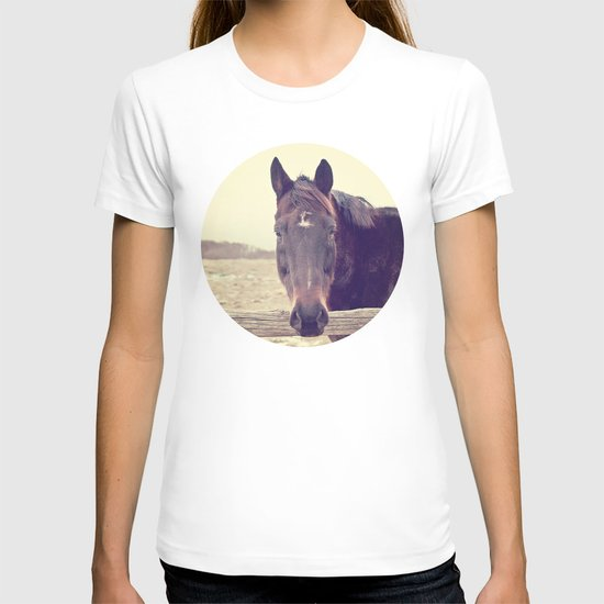 Hello Horse  T-shirt