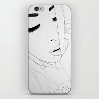 I used to know(illustration) iPhone & iPod Skin