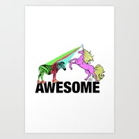 Awesome  Art Print