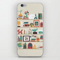 The shelf iPhone & iPod Skin
