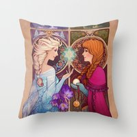 Let Me In Throw Pillow