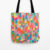 colorful patchwork 2 Tote Bag