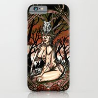 iPhone & iPod Case featuring The Huntress by Warren Glass