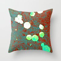 Enchanted Flowers Throw Pillow