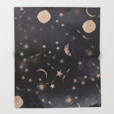 Constellations  Throw Blanket