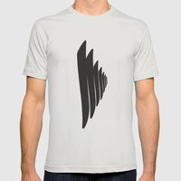 SAZLIK ELİF Mens Fitted Tee Silver SMALL