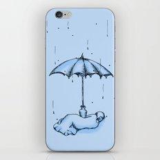 Rain Rain Go Away! iPhone & iPod Skin