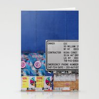 Street Collage I Stationery Cards