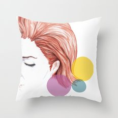 days go by Throw Pillow