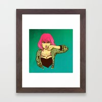 Fool me once... Framed Art Print