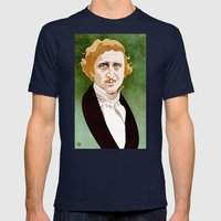 Young Frankenstein Mens Fitted Tee Navy SMALL
