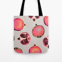 Pomegranate Pattern Tote Bag